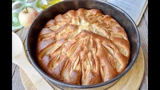 Яблочный пирог на кефире!:)