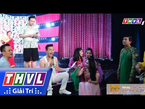 THVL | Làng Hài Mở Hội: Trấn Thành, Việt Hương, Đình Toàn, Chí Tài vã mồ hôi tập hát chung kết