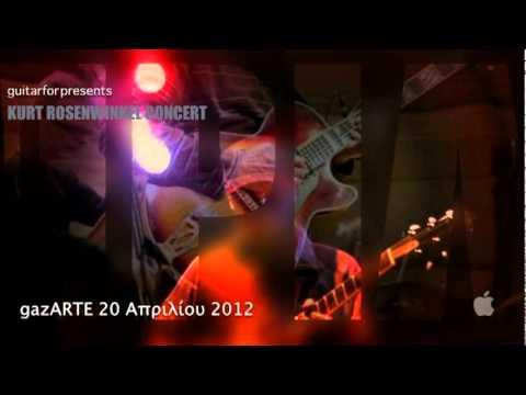 KURT ROSENWINKEL CONCERT @ gazArte by guitarfor (teaser 2)