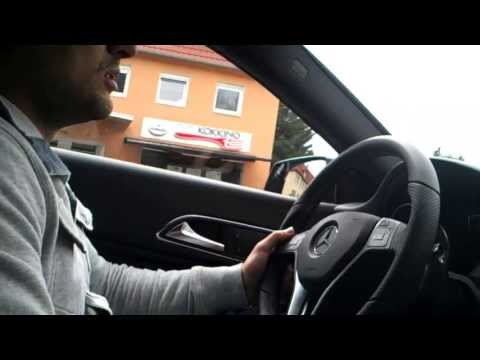 Test Drive Mercedes - Benz CLA  2/2