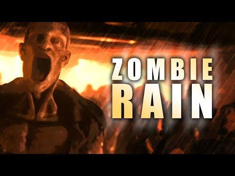 ZOMBIE RAIN ★ Call of Duty Zombies Mod (Zombie Games)