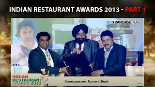 Indian Restaurant Awards 2013  Part 1