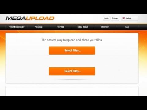 Anonymous venga el cierre de Megaupload