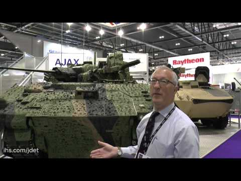 DSEI 2015: General Dynamics Land Systems UK Scout SV is named Ajax