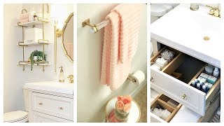 (8.67 MB) Small Guest Bathroom Makeover & Tour | Before And After Mp3