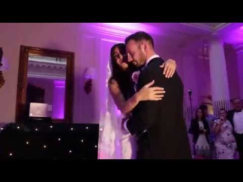 Hedsor House wedding: first dance Mr & Mrs Evans