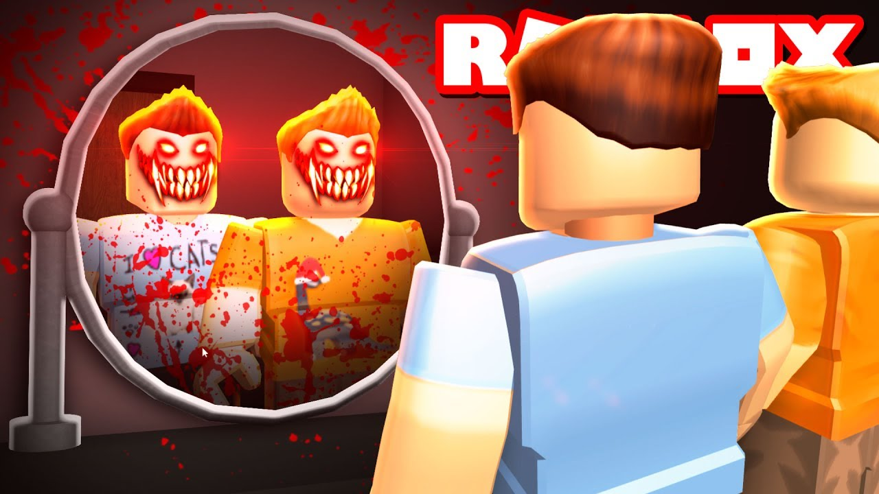 Roblox Adventures - DON'T LOOK INTO THE MIRROR IN ROBLOX! (Bloody Mary in Roblox)