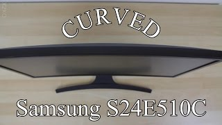 Samsung S24E510C unboxing