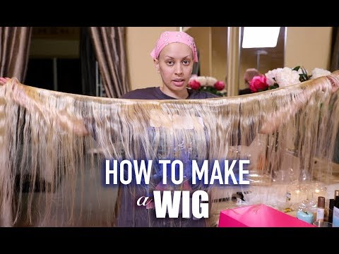 HOW I MAKE MY WIGS! (Easy At Home Method) | TYMETHEINFAMOUS