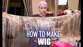Download Lagu HOW I MAKE MY WIGS! (Easy At Home Method) | TYMETHEINFAMOUS Gratis STAFABAND