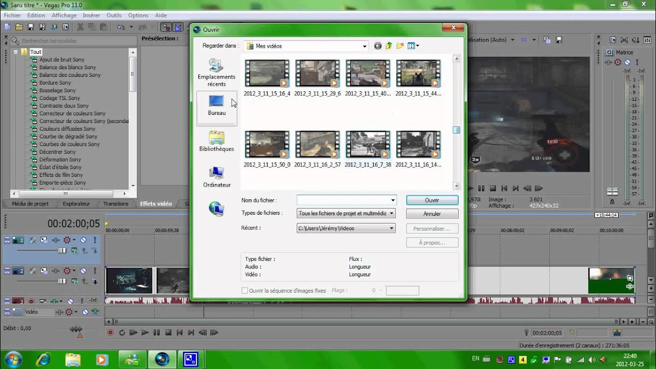 how to make green screen transparent in sony vegas