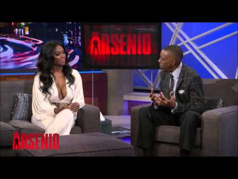 Kenya Moore On The Arsenio Hall Show