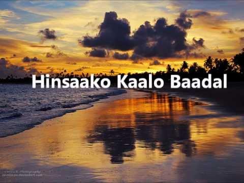 Hinsako kalo badal by Yama Buddha