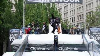 Ford CRJT 2011 Event Highlights - Finals - Snowboard