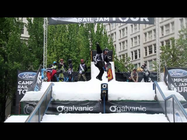 Ford CRJT 2011 Event Highlights - Finals - Snowboard