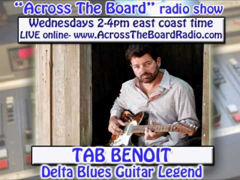 Tab Benoit interview w/ the