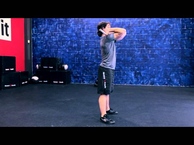 "Reebok CrossFit ONE Movement Demo ""Front Squat"""