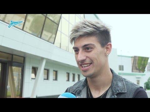 Первое интервью Эмилиано Ригони на «Зенит-ТВ»