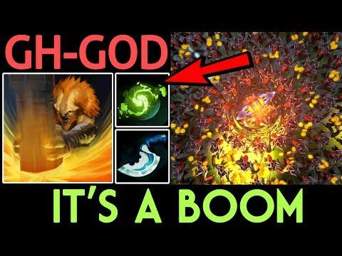 GH-GOD Dota 2 [Earthshaker] It's a Boom - Solo Mid