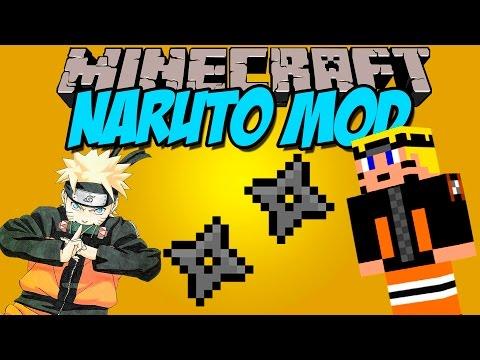NARUTO MOD - Se Jocague!! en minecraft! - Minecraft mod 1.7.10 Review ESPAÑOL