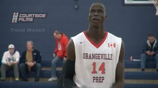 Thon Maker OFFICIAL Junior Mixtape | Most NBA Potential In High School Basketball!