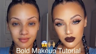 Bold Makeup Tutorial | Viva_Glam_Kay
