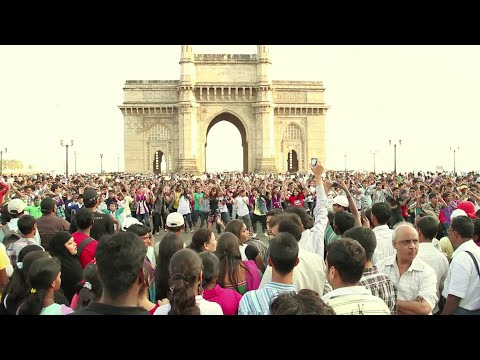 Mumbai 143 India's Biggest Flash mob (Official Video)