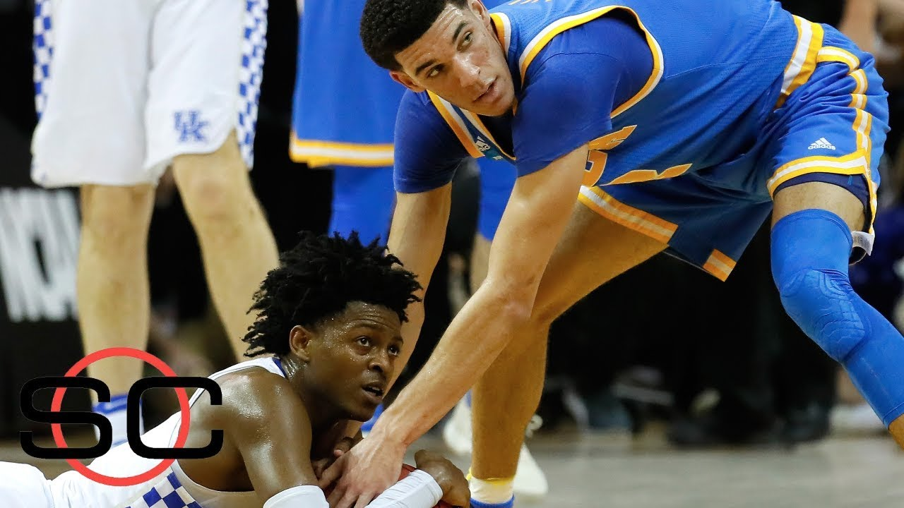 The budding rivalry between De'Aaron Fox and Lonzo Ball | SportsCenter | ESPN