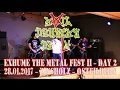 Evil Drunken Death LIVE @ Exhume The Metal 2   Day 2   Zinsholz Ostfildern   28.01.2017   Dani Zed