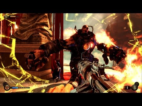 BioShock Infinite - Combat Commentary Video