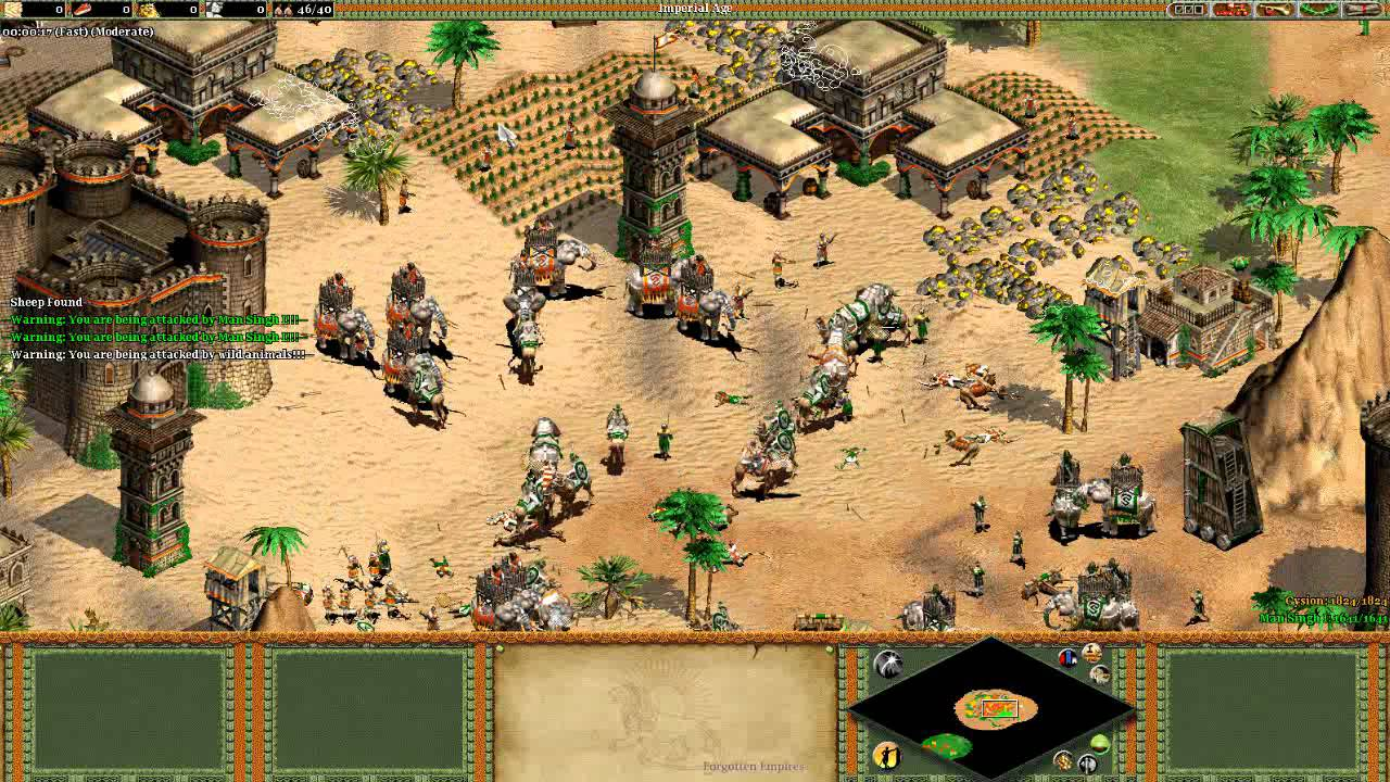 User patch aoe 2 the forgotten