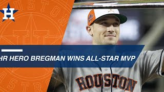 "Alex Bregman Plays ""HR Hero"" to Win All-Star Game MVP"