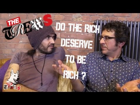 Do Rich People Deserve To Be Rich? Russell Brand The Trews (E223)