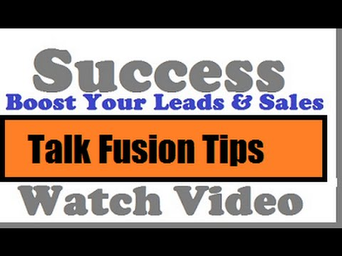 Talk Fusion Review|How To Use The Online Marketing To Create More Sales In Your Business