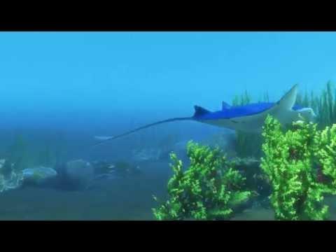 Maya Scene Underwater Scene in Maya