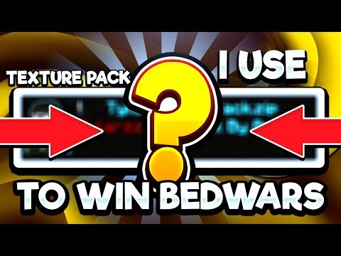 The Texture Packs I Use To Win Bedwars Games