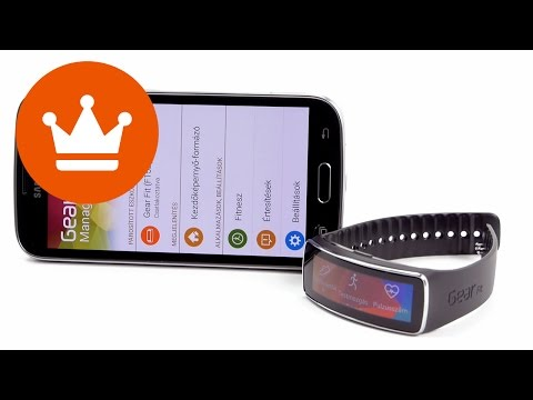 Samsung GearFit Fitness tracker okosóra