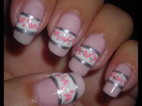 Nail Art - Sweet Valentine - Diseño de Uñas