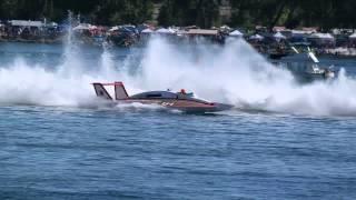 Miss Budweiser & Atlas Van Lines Vintage Hydroplanes