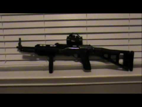 Hi Point 995 ts Carbine. Hi Point 995 ts Carbine. 0:29. forearm grip, off set flashlight and holder,Red dot sight,.