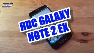 HDC Galaxy Note 2 Ex Review Test - MT6577 - Samsung N7100 or N7102 Clone? ColonelZap Fastcardtech