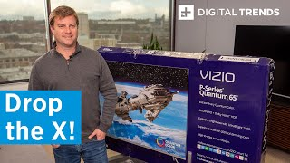 Vizio P Series Quantum 4K HDR TV Unboxing and Basic Setup