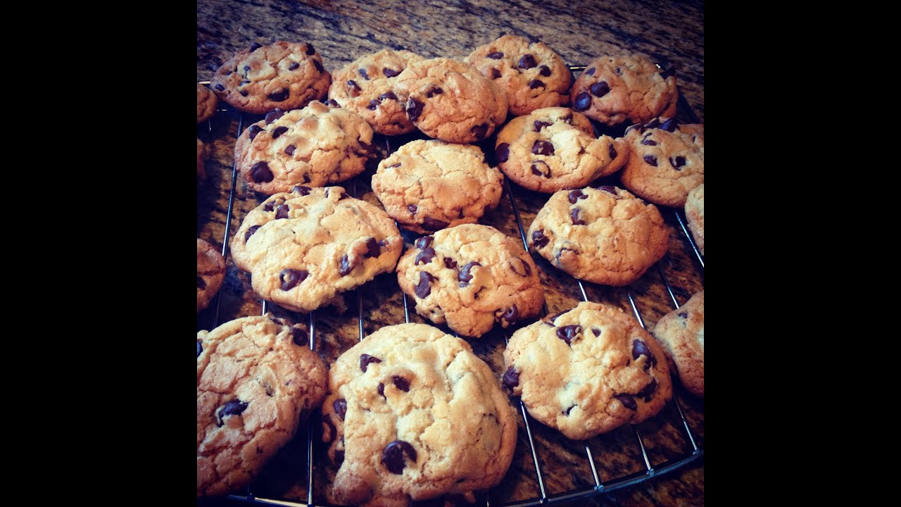 Crunchy Chocolate Chip Cookies Recipe