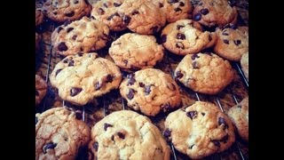 how to make crunchy chocolate chip cookies