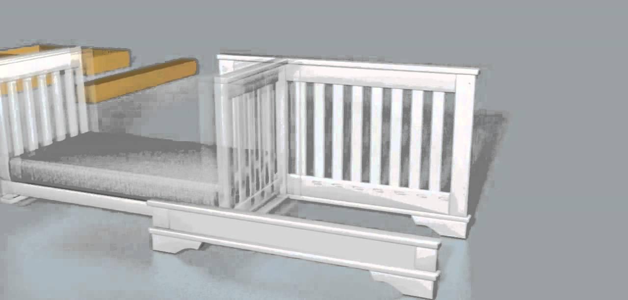 Boori Convertible PLUS Crib Animation - YouTube