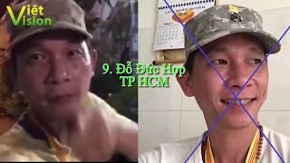 Công bố danh sách những kẻ mang cờ vàng hoặc cổ súy cờ vàng trên lãnh thổ nước CHXHCN Việt Nam