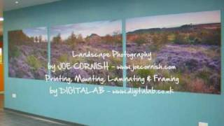 Digitalab & Joe Cornish -large format digital photography print