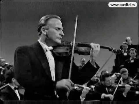 Yehudi Menuhin plays Beethoven violin concerto
