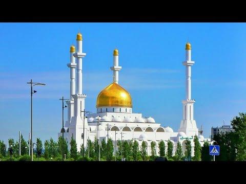 Nur Astana Mosque Kazakhstan Trip Street Scenes Travel Video Guide