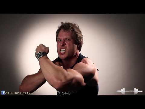 Crazy Flexing Muscle Biceps   Furious Pete